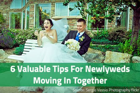 8 Tips On Moving In Together by 6 Valuable Tips For Newlyweds Moving In Together