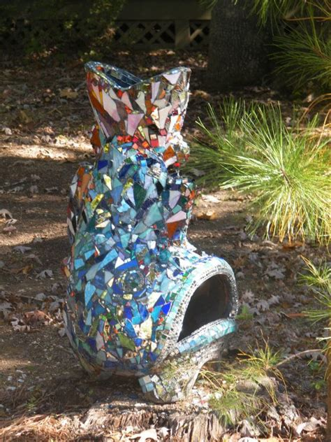 Fish Chiminea Large Mosaic Fish Chiminea