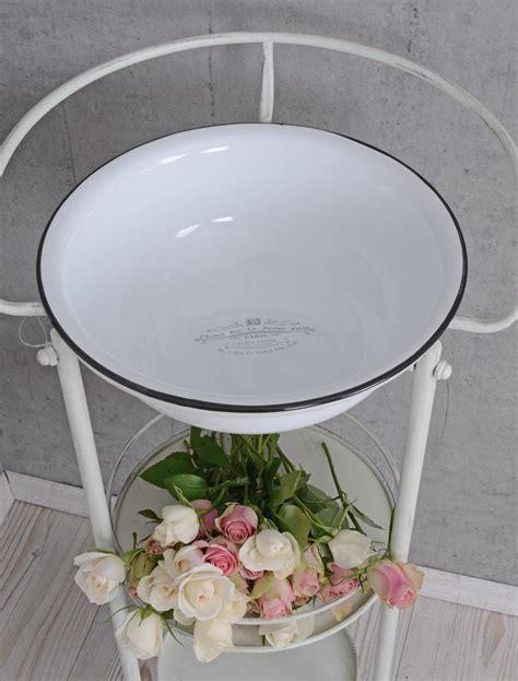 gartenmöbel shabby chic washstand shabby chic sink antique enamel bowl vintage ebay