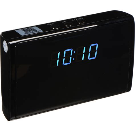 brickhouse security ivu digital clock with 5mp wi fi 228 ip28