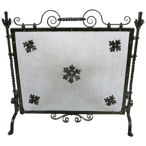antique wrought iron screen at 1stdibs