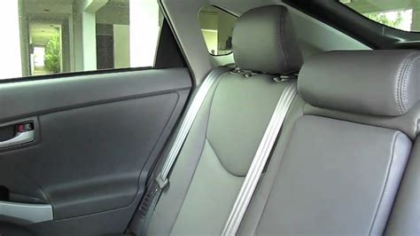 toyota prius leather seats uk 2010 toyota prius with katzkin leather interior doovi