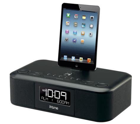 ihome idl dual charging stereo fm clock radio