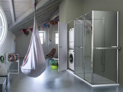 colombo pavimenti verano box doccia angolare con vano contenitore t24 by
