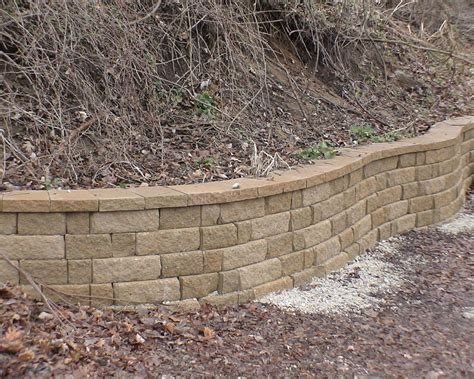 Retaining Wall Blocks Teorema Paradisaic Custom Decks Landscaping Inc