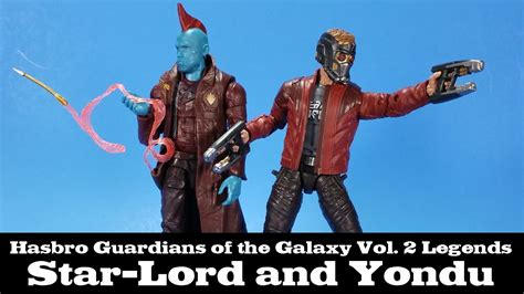 marvel legends lord and yondu guardians of the galaxy vol 2 hasbro