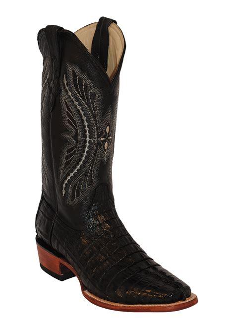 mens ferrini boots mens ferrini black caiman crocodile western cowboy d
