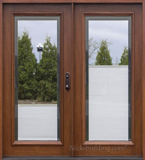 Patio Doors With Blinds Between Glass blinds between glass