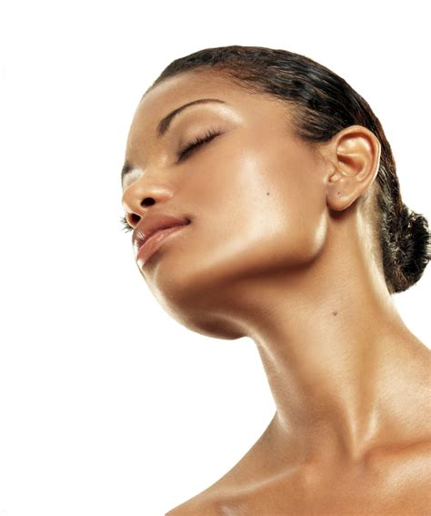 pictures of a woman s neck and jaw line skin by april chemical peels microdermabrasion st