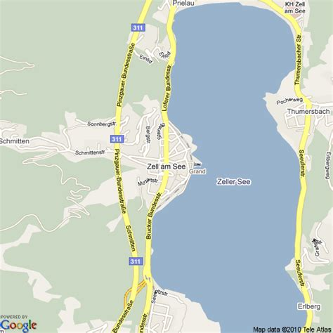 map of where i am map of zell am see austria hotels accommodation