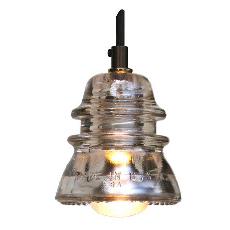 Insulator Pendant Lights Insulator Light Pendant Blue Green 120v 40w Bulb Railroadware