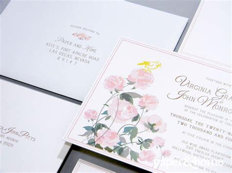 Wedding Invitations Virginia by Garden Wedding Invitations Virginia And