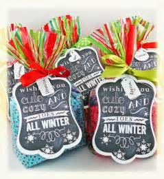 christmas socks gift tag diy christmas