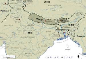 India Nepal Map by Bhutanese Refugee Students Why Are Bhutanese Refugees