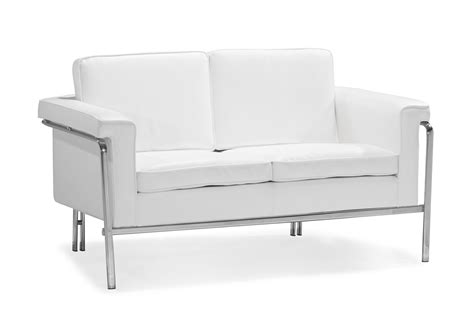 white leather loveseat modern modern white leatherette sofa set single leather sofas