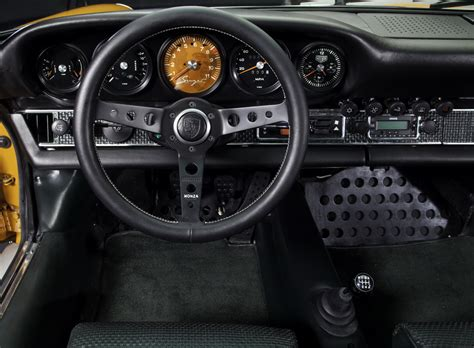 Neat Clocks by Clock In Singer Vehicle Design Porsche Is A Fake