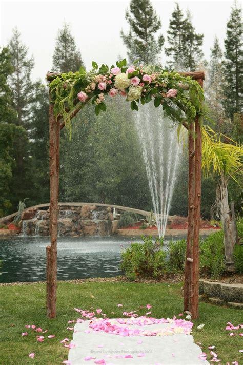 Wedding Arch Bc by Wedding Flowers Ideas Outdoor Rustic Wedding Arch Flowers