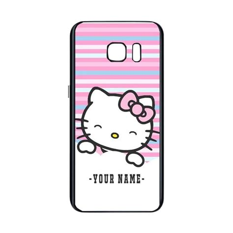 Casing Samsung S7 In The Johto Custom Hardcase jual bunnycase hello smile l1946 custom hardcase casing for samsung s7 harga