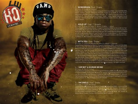 lil wayne ianahb lil wayne s i am not a human being released today