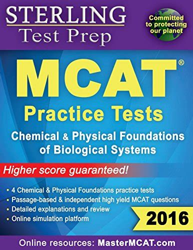 sterling test prep mcat organic chemistry biochemistry practice questions high yield mcat practice questions with detailed explanations books henry4063 on marketplace sellerratings