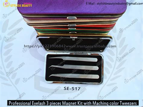 Pinset Untuk Extension Bulumata magnetic kasus untuk extension bulu mata pinset lash pinset magnetic kit pinset bulu mata dari