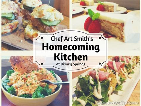 homecoming kitchen chef art smith s homecoming kitchen at disney springs beauty and the beets