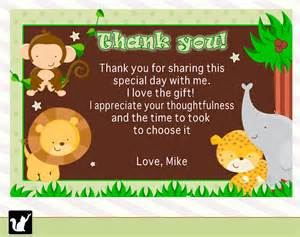 baby shower thank you cards free printable printable cards