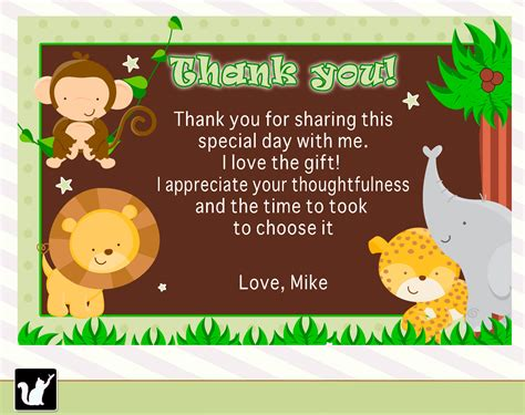 Thank You For Baby Gift Card - sending thank you baby shower cards baby shower for parents