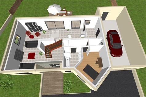 Plan Maison Etage 3 Chambres by Maison 224 233 Tage 3 Chambres Crea04
