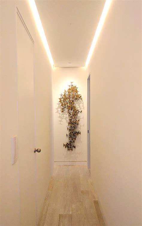 iluminacion indirecta led pasillo con iluminaci 243 n indirecta mediante tira de led