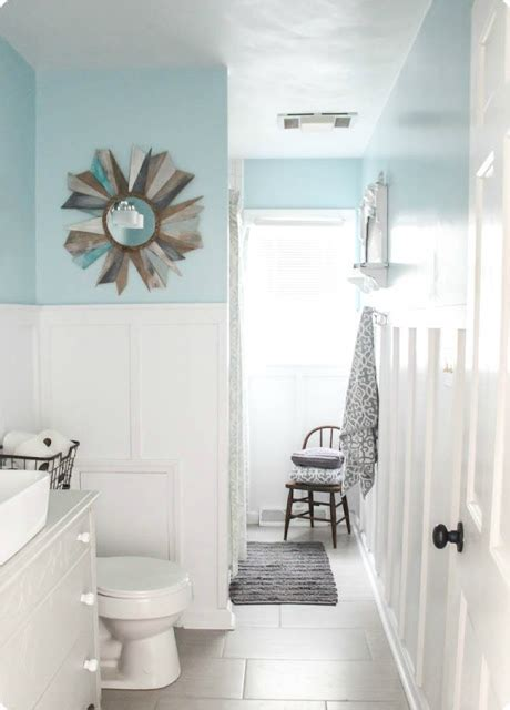 Bathroom Next Steps Which Wainscoting Look From