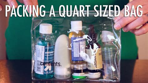 bid on travel how to pack your quart size bag