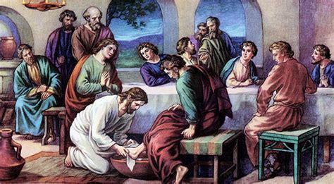 imagenes de jesus lavando los pies servir perdonar y amar