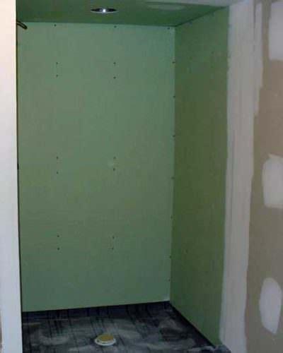 drywall showers   bad ideas     diytileguy