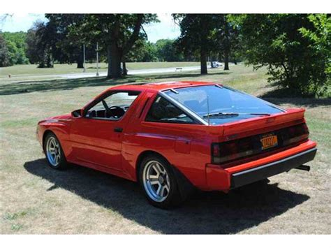 mitsubishi starion photos news reviews specs car listings 1987 mitsubishi starion for sale classiccars com cc 927131