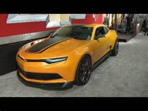 the camaro bumblebee on the red carpet at the transformers