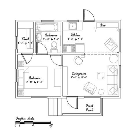 tiny cottage floor plans beth s teeny tiny cottage in california small house bliss