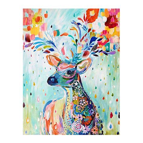 high quality boy girl diy home decor embroidery diamond elegant diy 5d diamond painting ᗑ deer deer gift