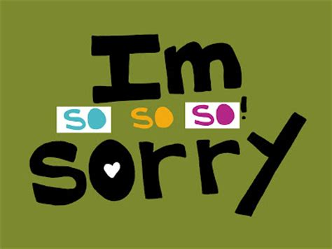 7 Ways To Say Im Sorry by Nightly Doodles And Cherry Runway Three Ways To Say Quot I