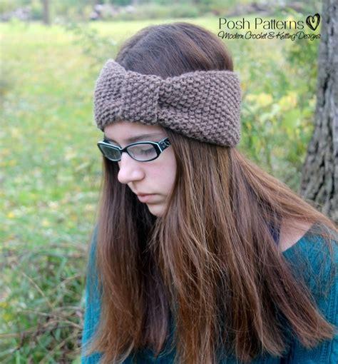 knitting pattern sites headband knitting pattern knit ear warmer