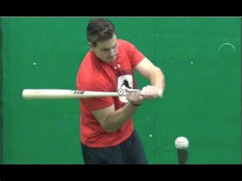 rotary swing throw the ball drill secret quot hands inside the ball quot baseball hitting drill