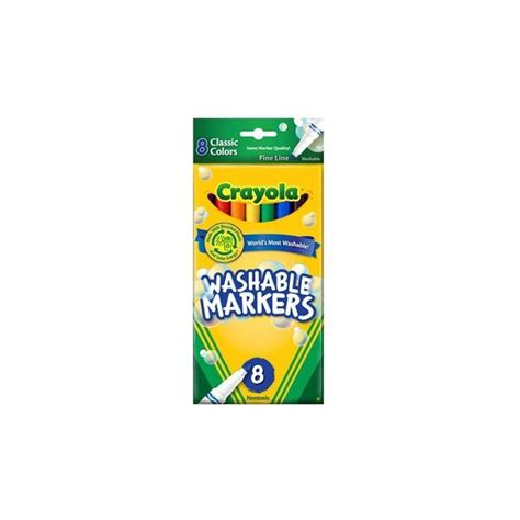 what is best name brand color for fine hair markers fine classic colors 8ct brand crayola