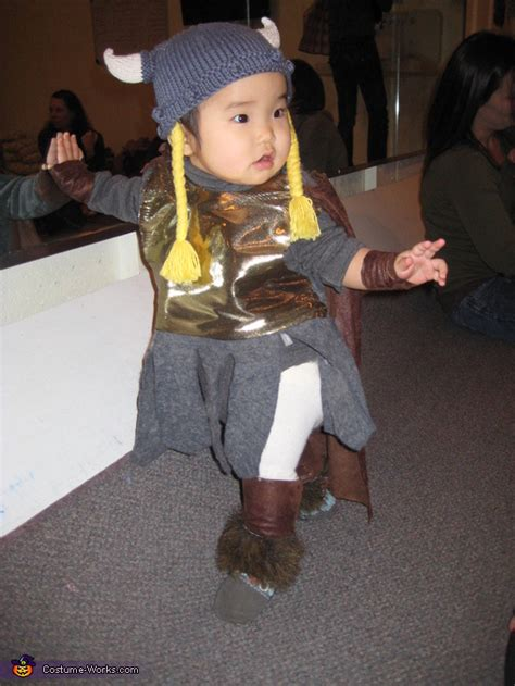 viking home  costume  kids bunnhilde