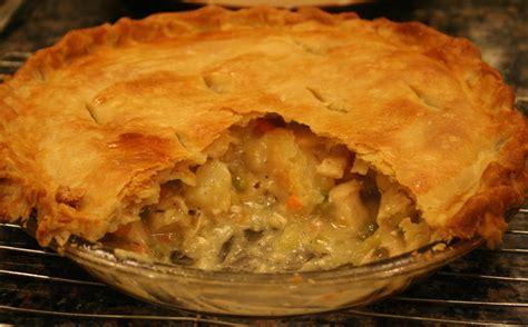 Handmade Pies - epitome of comfort food chicken pot pie w flakey