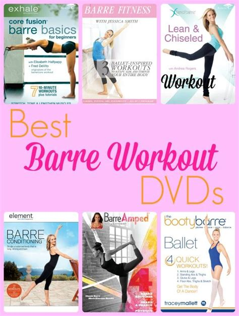 try a barre workout from the comfort of home with these