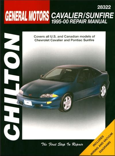 car repair manuals online free 1995 pontiac grand prix navigation system chevy cavalier pontiac sunfire repair manual 1995 2000 chilton