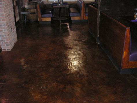 Staining Basement Floor by Stained Concrete Floor Basement New Floor