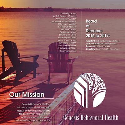 genesis mental health awareness in the salmon press