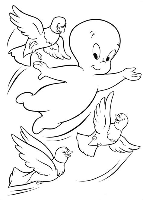 coloring pages of casper the friendly ghost fun coloring pages casper ghost coloring pages