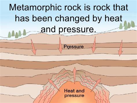 diagram of metamorphic rock rocks